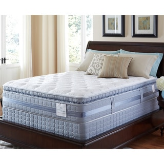 Serta Perfect Sleeper Elite Pleasant Night Super Pillowtop Split Queen-size Mattress and Foundation Set