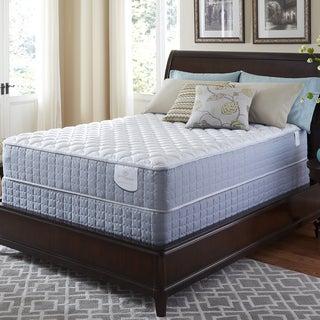Serta Perfect Sleeper Luminous Cushion Firm Twin XL-size Mattress and Foundation Set