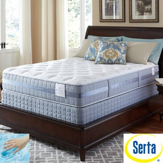 Serta Perfect Sleeper Majestic Retreat Plush Twin XL-size Mattress and Foundation Set