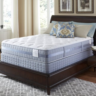 Serta Perfect Sleeper Majestic Retreat Plush Queen-size Mattress and Foundation Set