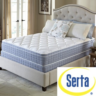 Serta Revival Euro Top Cal King-size Mattress and Foundation Set