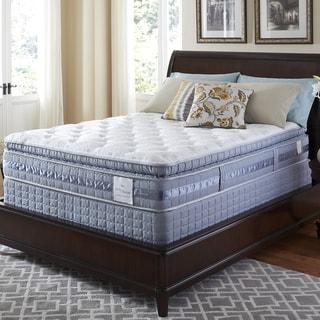 Serta Perfect Sleeper Resolution Super Pillowtop Split Queen-size Mattress and Foundation Set