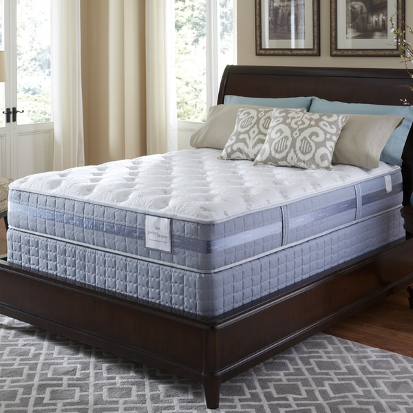 Serta Perfect Sleeper Resolution Plush King Size Mattress And Foundation Set