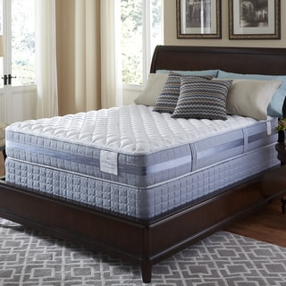 Serta Perfect Sleeper Resolution Firm Gel Queen-size Mattress and Foundation Set