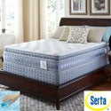 Serta Perfect Sleeper Majestic Retreat Super Pillowtop Twin-size Mattress and Foundation Set