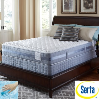 Serta Perfect Sleeper Resolution Firm Cal King-size Mattress and Foundation Set