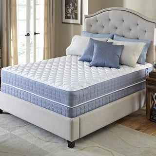 Serta Revival Plush Twin-size Mattress and Foundation Set
