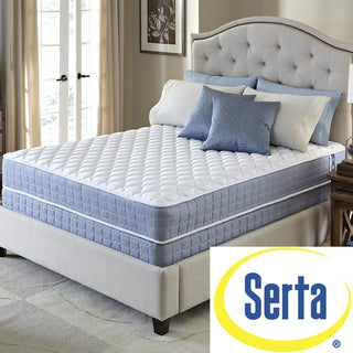 Serta Revival Plush Split Queen-size Mattress and Foundation Set