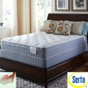 Serta Perfect Sleeper Luminous Euro Top Queen Mattress and Foundation Set