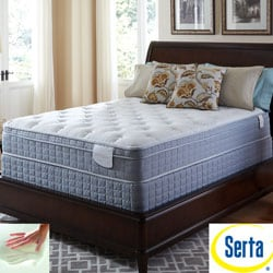 Serta Perfect Sleeper Luminous Euro Top Full-size Mattress and Foundation Set