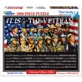 White Mountain Puzzle It Is The Veteran 1000 Piece Jigsaw Puzzle