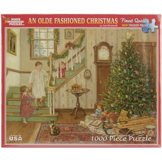 White Mountain Puzzles An Olde Fashioned Christmas 1000 Piece Jigsaw Puzzle