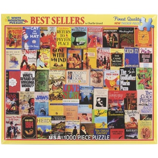 White Mountain Puzzles Best Sellers 1000 Piece Jigsaw Puzzle