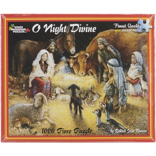 White Mountain Puzzles O Night Divine 1000 Piece Jigsaw Puzzle