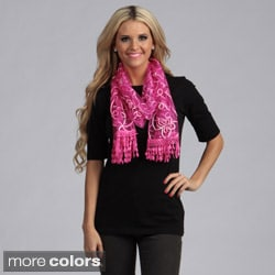 Cashmere Showroom Women's Butterfly Lace Scarf