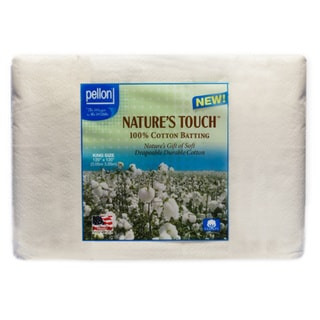 Pellon King-size Natures Touch 120 x 120-inch Non-scrim Natural Cotton Batting