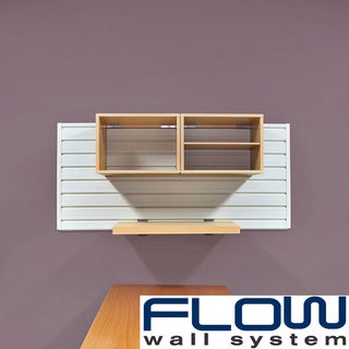 Flow Wall White/Maple Decor Starter Set