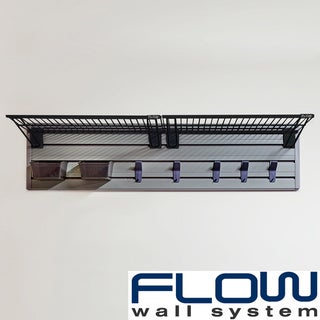 Flow Wall Silver/Black/Black Flow Anywhere Shelf Starter