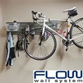Flow Wall Silver/Clear Flow Anywhere Horizontal Bike Starter Set