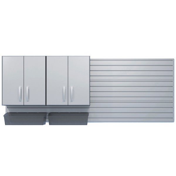 Flow Wall Dual Wall Cabinet and Jumbo Bin Starter Pack