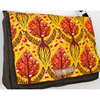 Handmade Medium 'Tree of Life' Messenger Bag