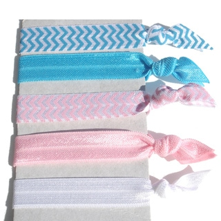 Boutique 5-Piece Ponytail Hair Tie Set