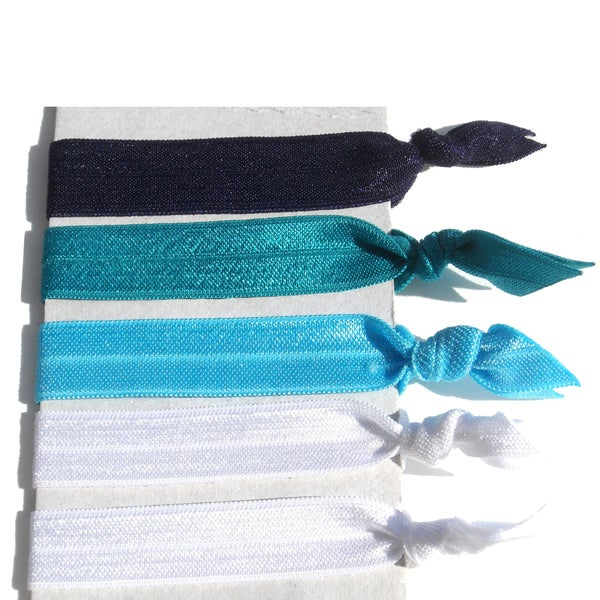 Ponytail Hair Tie 5-Piece Set