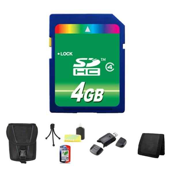 Point & Shoot Camera Accessory 4GB Bundle