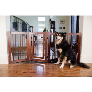 Primetime Petz Wooden Configurable Pet Safety Gate