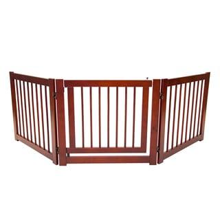 Primetime Petz 360 24-inch Configurable Wooden Pet Gate