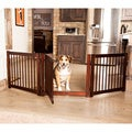 Primetime Petz Wooden 360-degree 3-panel Configurable Pet Gate