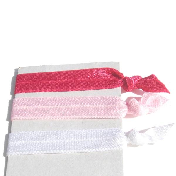 3-piece Ponytail Hair Tie Set