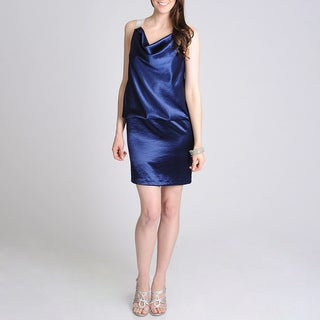 Betsy & Adam Women's Embellished Blouson Evening Dress