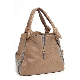 Vintage Reign 'Marky' Leather Hobo Bag