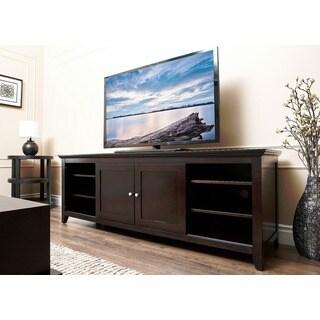 Abbyson Living Camden Espresso 72-inch Wood TV Console