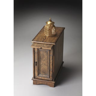 Praline Wood Grained Chairside Chest