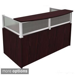 Boss Plexiglass Reception Desk