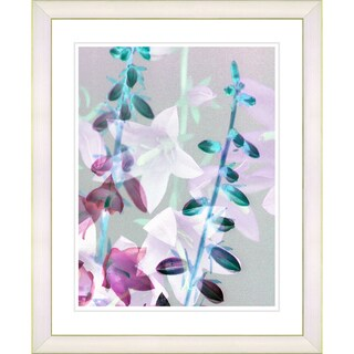 Studio Works Modern 'Bells from Tucapel - Turquoise' Framed Print
