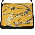 Handmade Medium Yellow Bird On A Branch Messenger Bag
