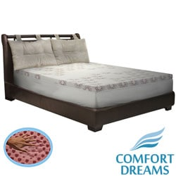 Comfort Dreams Lifestyle Collection Performance 3-inch Memory Foam Topper with Cover