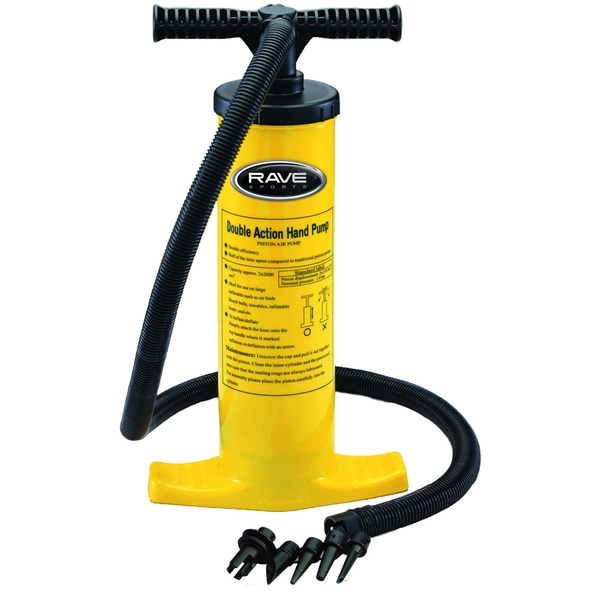 Rave Sports Double Action Hand Pump
