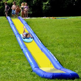 RAVE Sporst Turbo Chute Backyard Water Slide Package