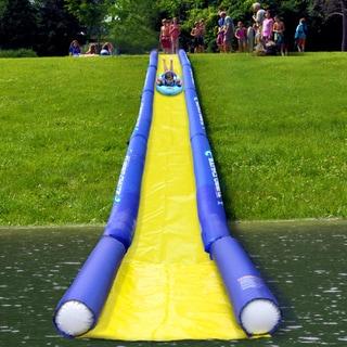 Rave Sports Turbo Chute Water Slide Lake Package