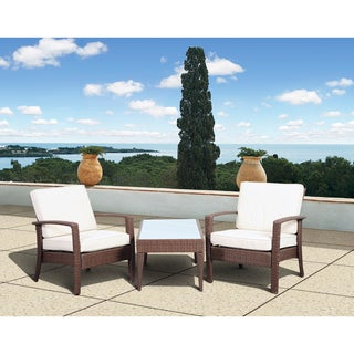Atlantic Mykonos Brown Deluxe 3-piece Balcony Set
