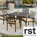 RST Delano 5-Piece Cast Aluminum Patio Cafe Set