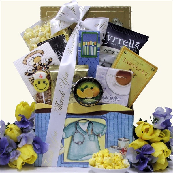 Sweet Appreciation Nurse's Day Gourmet Snack Basket