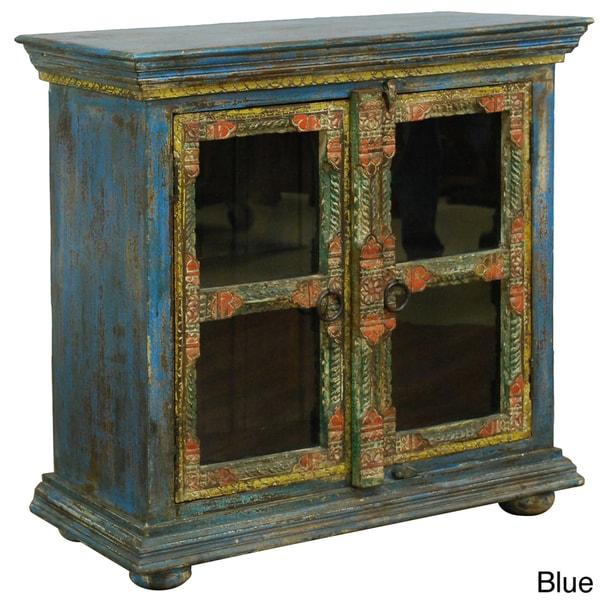 Kosas Home Debbie 2-door Glass Cabinet