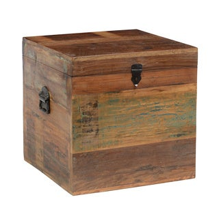 Kosas Home Bali Small Recycled Wood Box