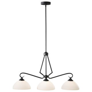 Merritt Contemporary 3-light Bronze Downlight Chandelier