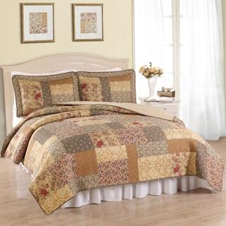 Heather Cotton 3-piece Quilt Set